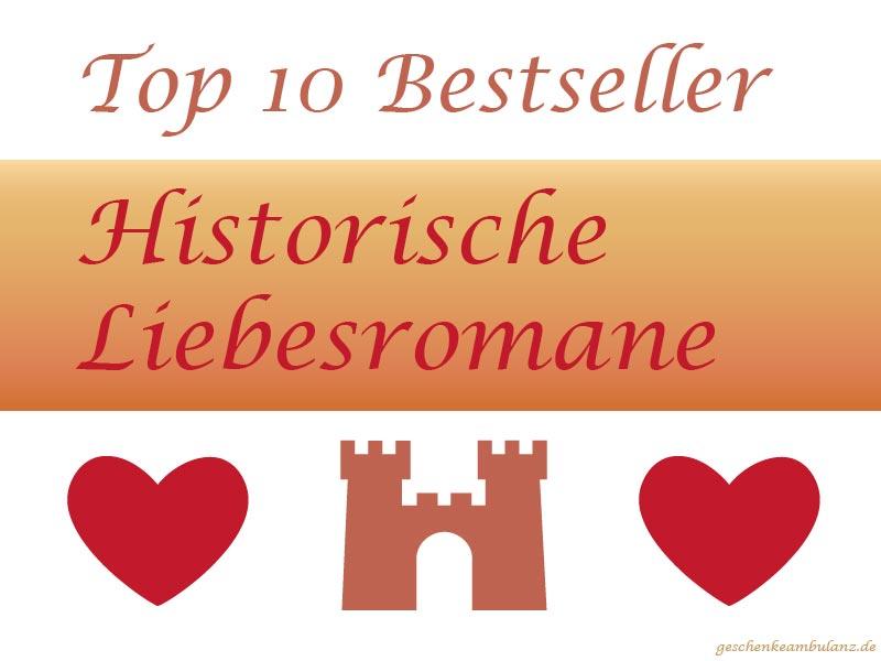Historische Liebesromane Bestseller