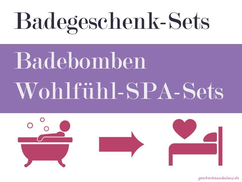 Badebomben Geschenksets & Badegeschenksets & Badepralinen kaufen