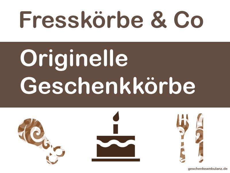 origininelle Geschenkkörbe & Fresskörbe