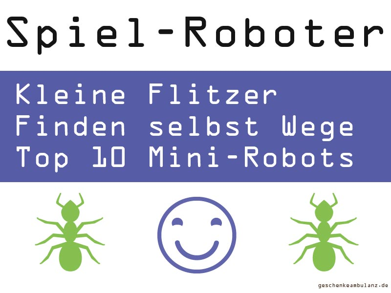 Kleine Spielroboter von Hexbug als Geschenk kaufen
