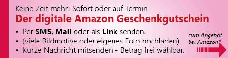 Geschenkgutschein - Digital - SMS - Mail - Link - online kaufen