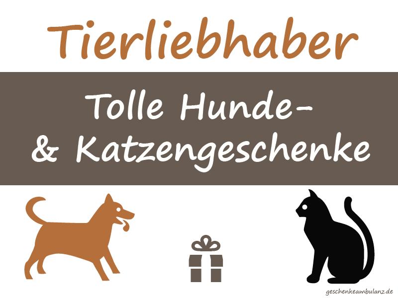 Geschenk für Katzen und Hundeliebhaber
