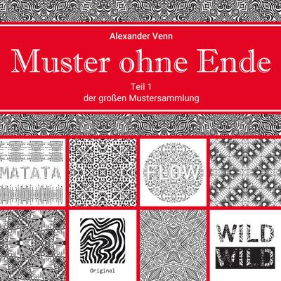 Buchcover Mustersammlung: Geschenk für alle, die gerne Muster anschauen, zeichnen oder entwerfen
