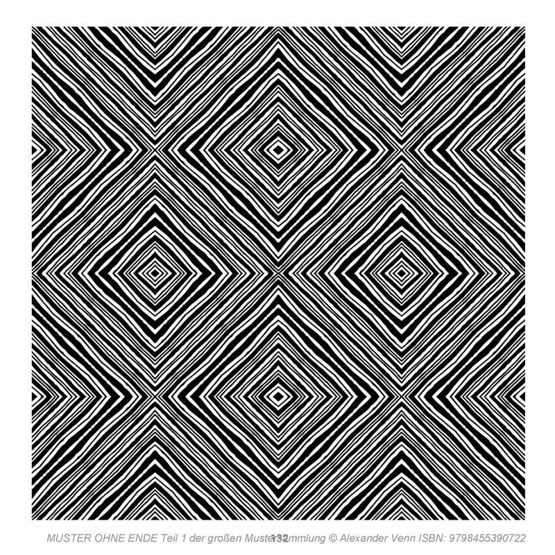 Linienmuster als Kassettenmuster